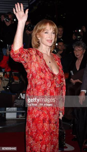 Shirley Anne Field arrive for the world charity premiere of Alfie at the Empire Leicester Square in central London in aid of MakeAWish foundation