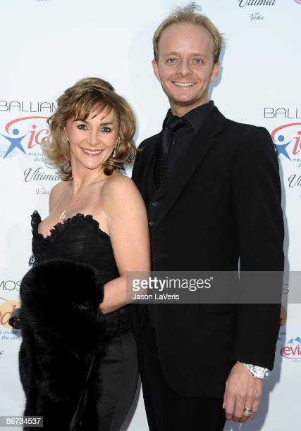 Shirley Ballas and Alan Grundy attend 'Dancing Under the Stars' on May 6 2009 in in Beverly Hills California