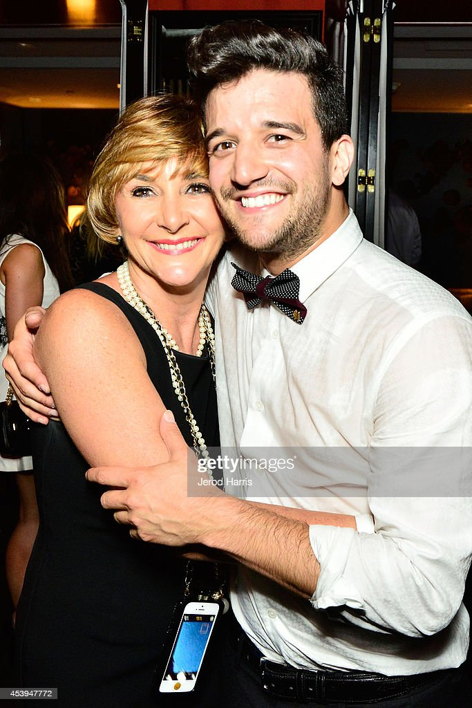 Shirley Ballas and <a gi-track='captionPersonalityLinkClicked' href=/galleries/search?phrase=Mark+Ballas&family=editorial&specificpeople=4531129 ng-click='$event.stopPropagation()'>Mark Ballas</a> attend OK! TV Awards Party at Sofitel Hotel on August 21, 2014 in Los Angeles, California.