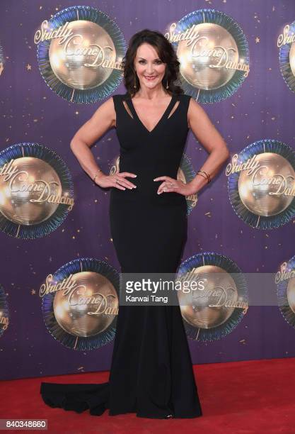 Shirley Ballas attends the 'Strictly Come Dancing 2017' red carpet launch at Broadcasting House on August 28 2017 in London England