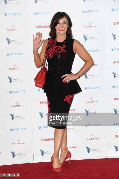 Shirley Ballas attends the Woman Of The Year Awards Lunch at Intercontinental Hotel on October 16 2017 in London England