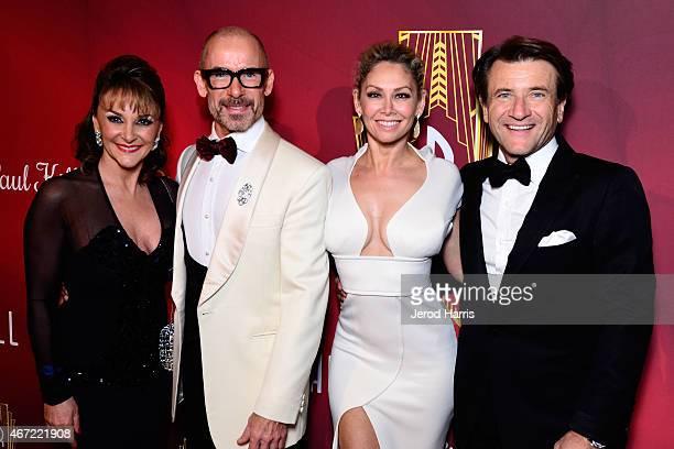 Shirley Ballas Paul Killick Kym Johnson and Robert Herjavec attend the 2015 Royal Ball Hollywood Gala at Millennium Biltmore Hotel on March 21 2015...