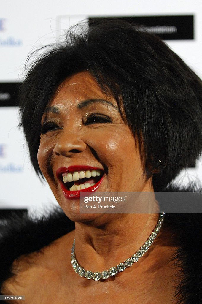 Shirley Bassey attends the Grey Goose Winter Ball at Battersea Park on October 29, 2011 in London, England.