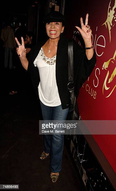 Shirley Bassey attends the Hoping Foundation Benefit Evening hosted by Bella Freud in aid of the HOPING foundation at Ronnie Scott's on June 21 2007...