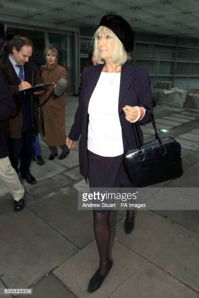 Shirley Bennet a member of Marchioness Group after a meeting with Deputy Prime Minister John Prescott at the Department of Environment Transport in...