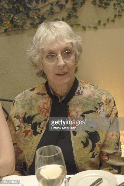 Shirley Berman attends SHE Images of women by Wallace Berman and Richard Prince Opening at Michael Kohn Gallery on January 15 2009 in Beverley Hills...