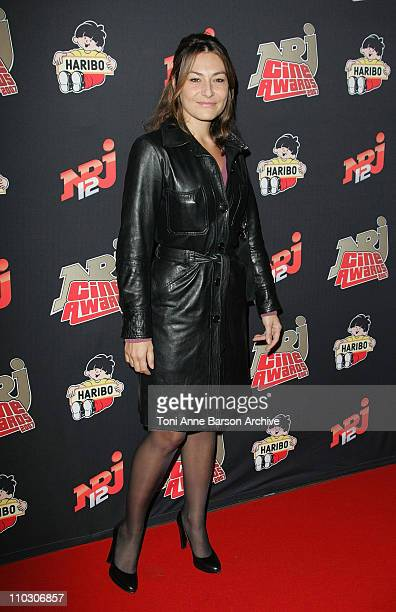 Shirley Bousquet arrives at the Rex NRJ Cine Awards on October 1 2007 in Paris France