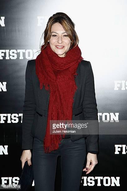 Shirley Bousquet attends 'Fiston' Paris Premiere at Le Grand Rex on February 10 2014 in Paris France