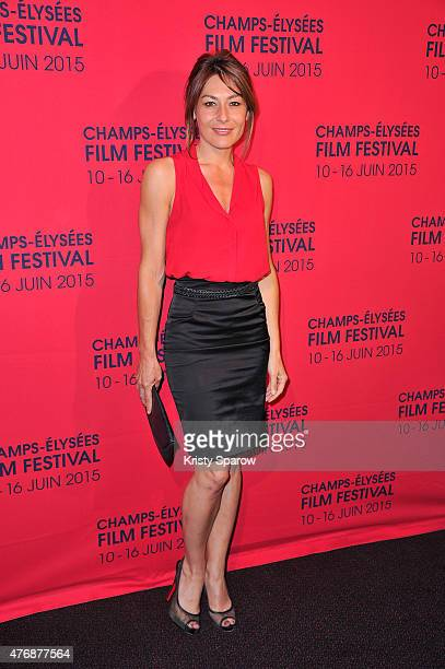 Shirley Bousquet attends the 'La resistance de l'air' Premiere during the 4th Champs Elysees Film Festival at Cinema UGC George V on June 12 2015 in...