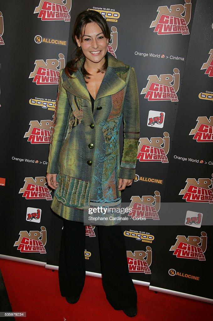 Shirley Bousquet attends the NRJ Cine Awards.