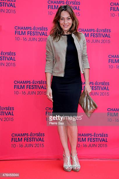 Shirley Bousquet attends the opening ceremony of the 4th Champs Elysees Film Festival at Publicis Champs Elysees on June 9 2015 in Paris France