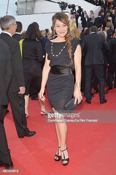 Shirley Bousquet attends the 'Two Days One Night' premiere during the 67th Annual Cannes Film Festival on May 20 2014 in Cannes France