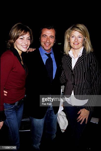 Shirley Bousquet Bernard Montiel and Lynda Lacoste