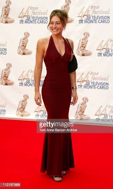 Shirley Bousquet during 44th Monte Carlo Television Festival 'Stauffenberg' Screening and Opening Ceremony Arrivals at Grimaldi Forum in Monte Carlo...