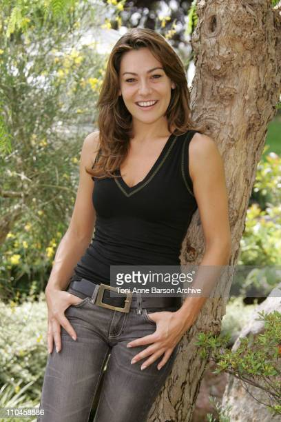 Shirley Bousquet during 46th Monte Carlo Television Festival Emma SaintClaire Photocall with Shirley Bousquet at Grimaldi Forum in Monte Carlo Monaco