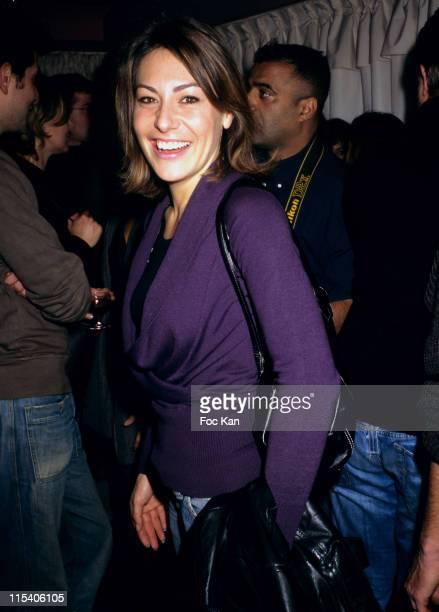 Shirley Bousquet during 'Convivium' Paris Premiere After Party at La Suite Club in Paris France