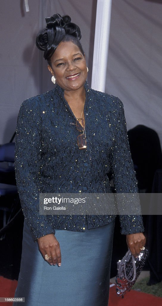 Shirley Caesar attends Seventh Annual Soul Train 'Lady of Soul' Awards on August 28, 2001 at the Santa Monica Civic Auditorium in Santa Monica, California.