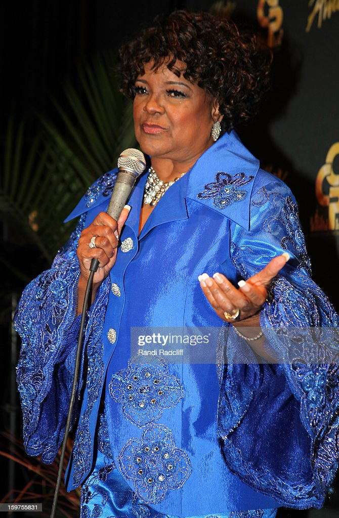 Shirley Caesar attends the 28th Annual Stellar Awards Press Room at Grand Ole Opry House on January 19, 2013 in Nashville, Tennessee.