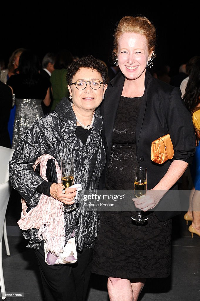 Shirley Chasin and Colleen Criste attend LACMA's 2013 Collectors Committee - Gala Dinner at LACMA on April 13, 2013 in Los Angeles, California.