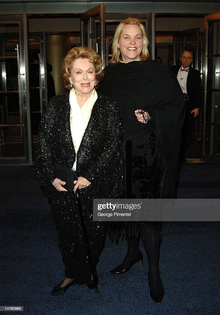 Shirley Douglas Rachel Sutherland at the Princess of Wales Theatre in Toronto Canada