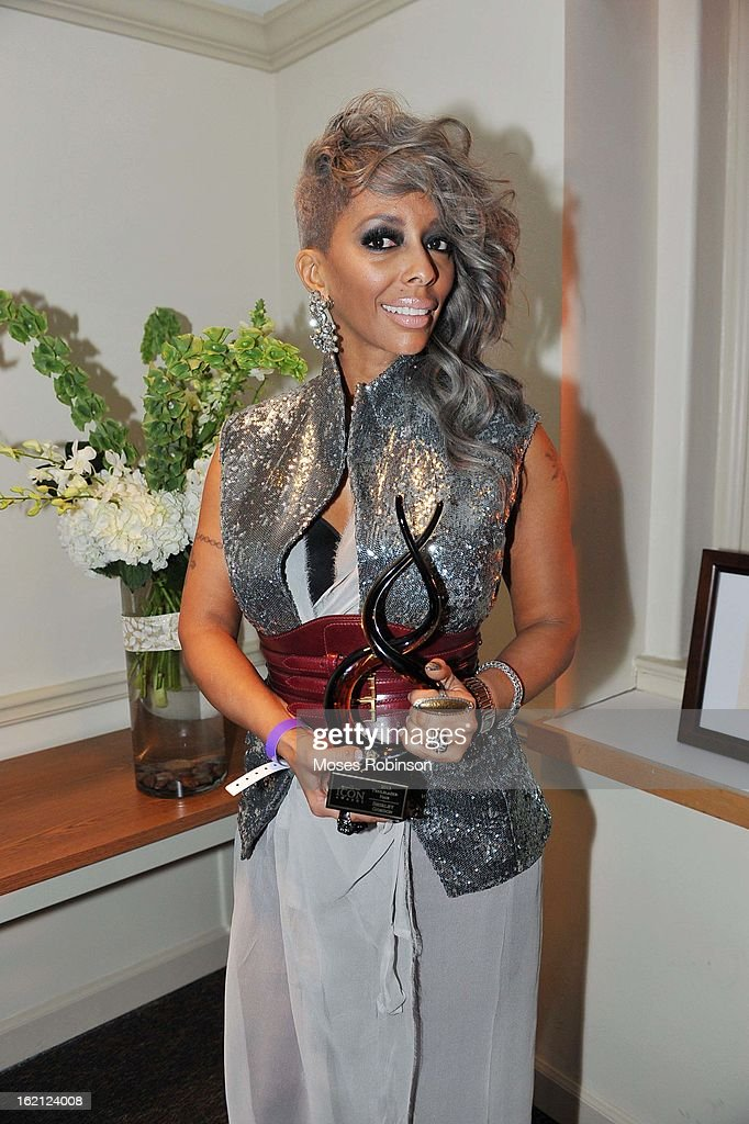 Shirley Gordon appears at the 2013 Bronner Bros. ICON Awards Presented By Clairol - Backstage on February 18, 2013 in Atlanta, United States.