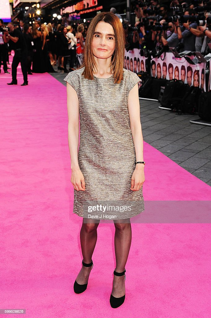 Shirley Henderson arrives for the world premiere of 'Bridget Jones's Baby' at Odeon Leicester Square on September 5, 2016 in London, England.