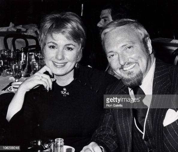 Shirley Jones and Jack Cassidy during Jack Cassidy and Shirley Jones Sighted at Sardi's Restaurant at Sardi's Restaurant in New York City New York...