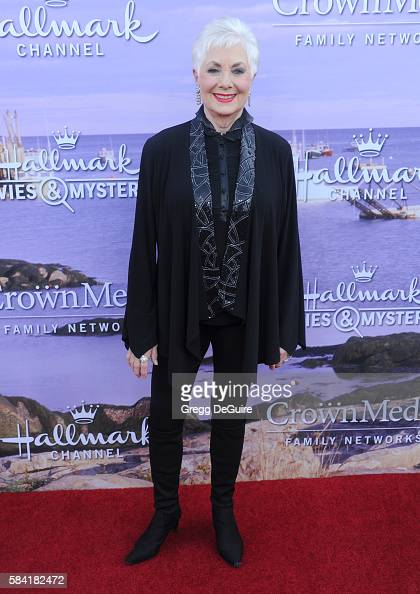 Shirley Jones arrives at the Hallmark Channel and Hallmark Movies and Mysteries Summer 2016 TCA Press Tour Event on July 27 2016 in Beverly Hills...