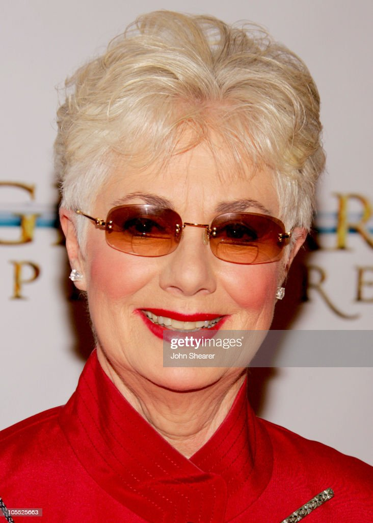 Shirley Jones during 'Annie' Opening Night to Benefit CASA of Los Angeles Arrivals at Pantages Theatre in Hollywood California United States