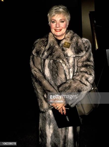 Shirley Jones during Performance of 'Romeo Juliet' at Academy Theatre in Beverly Hills California United States