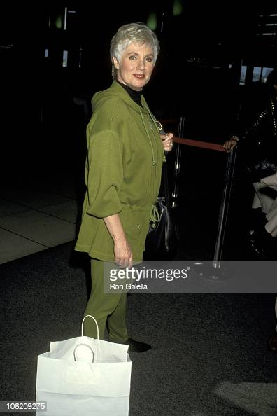 Shirley Jones during Shirley Jones at Los Angeles International Airport at Los Angeles International Airport in Los Angeles California United States
