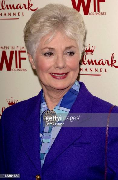 Shirley Jones during Women in Film and Hallmark Channel Honor Dr Maya Angelou at Academy of Motion Picture Arts and Sciences in Hollywood California...