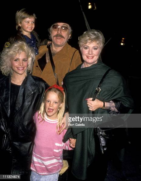 Shirley Jones Marty Ingels John Cassidy Caitlin Cassidy and guest
