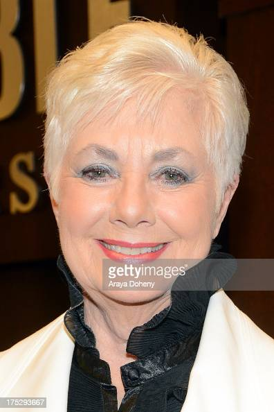 Shirley Jones signs copies of her new book 'Shirley Jones A Memoir' at Barnes Noble bookstore at The Grove on August 1 2013 in Los Angeles California