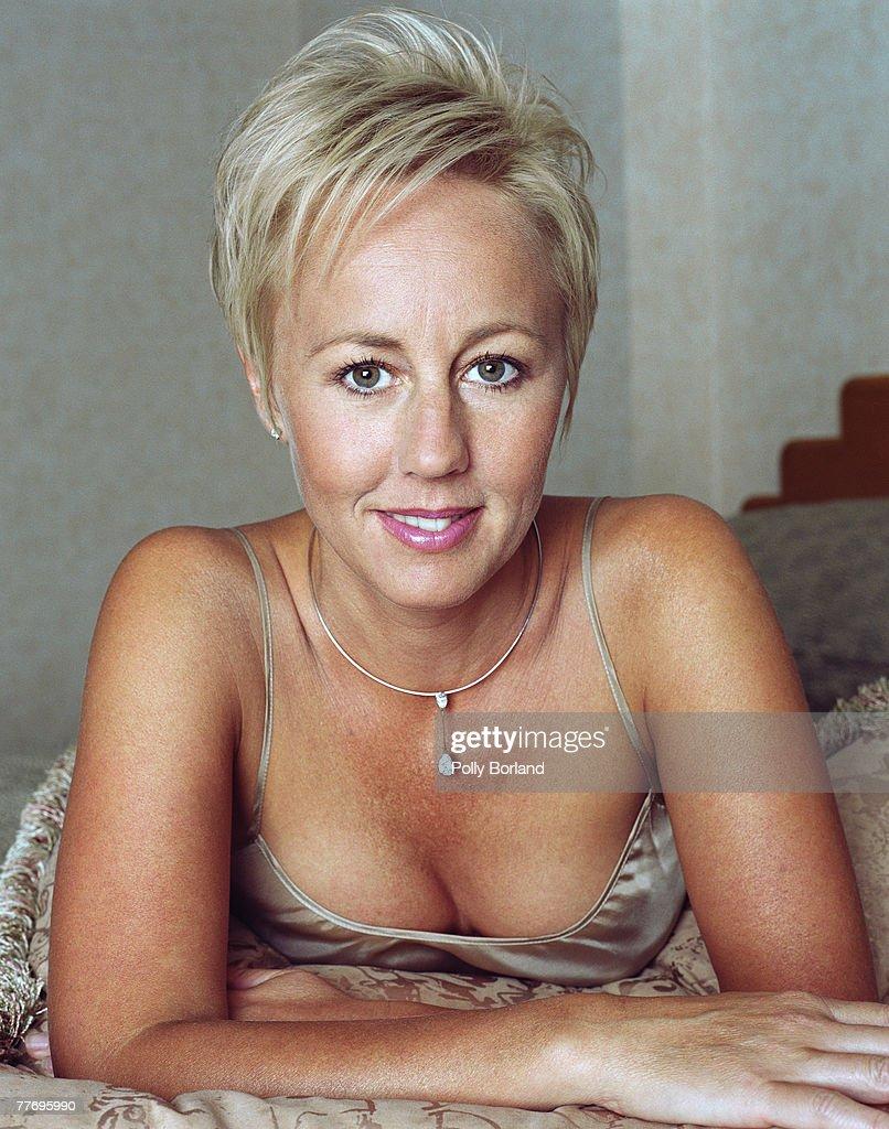 Shirley Kemp, nee Holliman, of British pop duo Pepsi & Shirlie, circa 1995. She married singer Martin Kemp of Spandau Ballet in 1988.