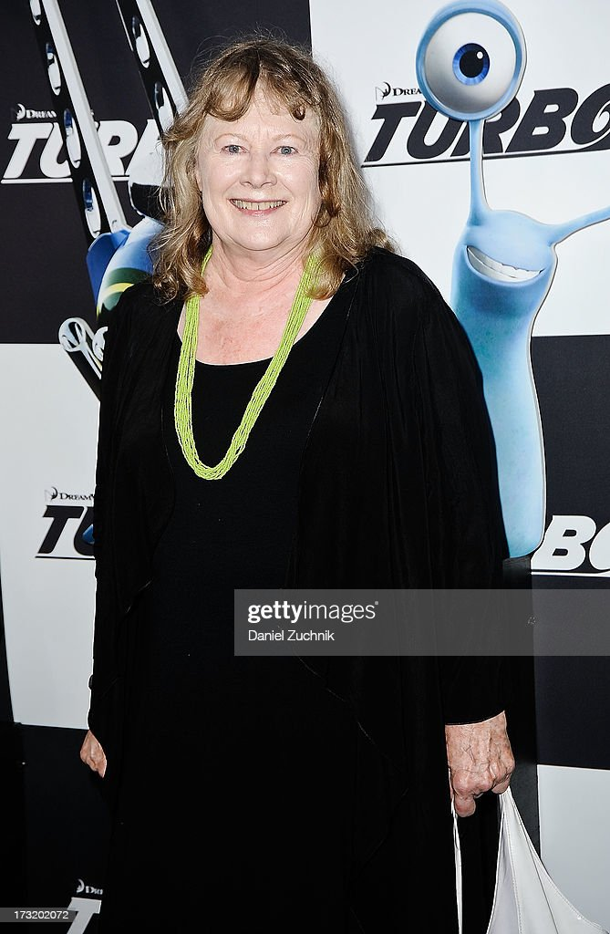 <a gi-track='captionPersonalityLinkClicked' href=/galleries/search?phrase=Shirley+Knight&family=editorial&specificpeople=550323 ng-click='$event.stopPropagation()'>Shirley Knight</a> attends the 'Turbo' New York Premiere at AMC Loews Lincoln Square on July 9, 2013 in New York City.