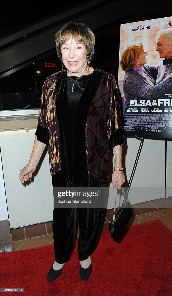 "Premiere Of ""Elsa & Fred"" - Red Carpet"