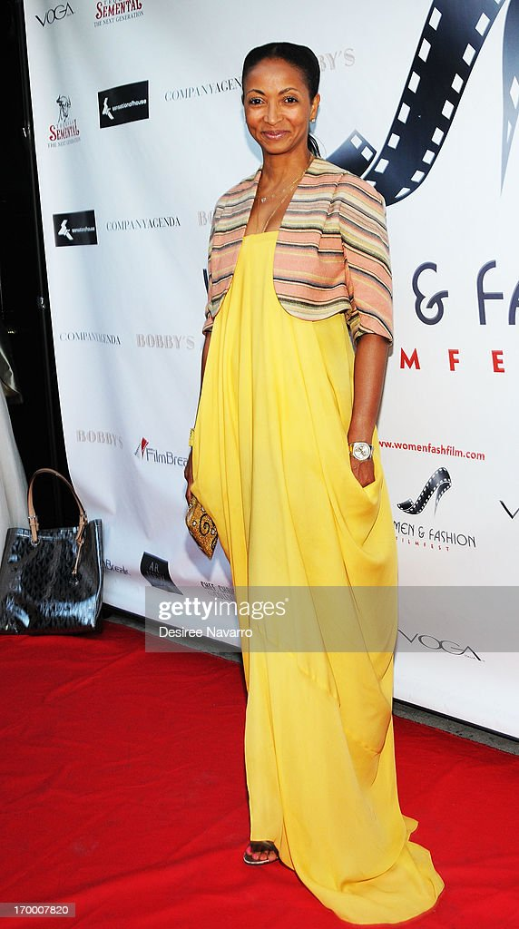 Shirley Madhere attends the 2013 Women & Fashion FilmFest Launch Party at Bobby's Nightclub on June 5, 2013 in New York City.