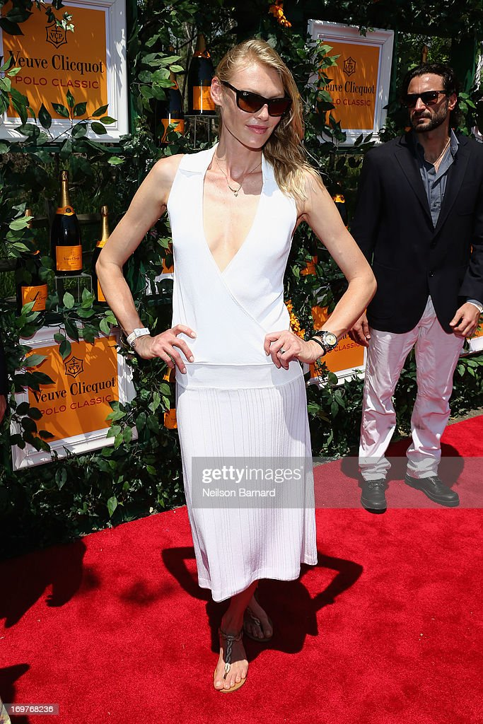 Shirley Mallmann attends the sixth annual Veuve Clicquot Polo Classic on June 1, 2013 in Jersey City.
