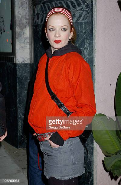 Shirley Manson during Pop Icon Gwen Stefani Previews Harajuku Lovers Apparel Line Arrivals at The Hollywood Museum in Hollywood California United...