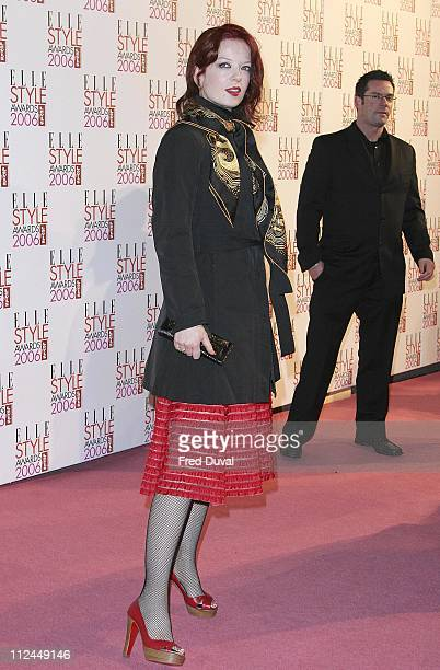 Shirley Manson of Garbage during ELLE Style Awards 2006 Arrivals at Atlantis Gallery in London Great Britain