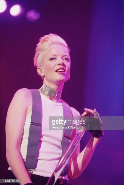 Shirley Manson of Garbage Live In Concert during Star 987's Not So Silent Night at Shrine Auditorium in Los Angeles California United States
