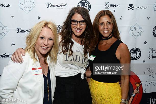 Shirley Richter Tami Holzman and Rebecca Cocco attend the book launch for 'From CStudent to the CSuite Leveraging Emotional Intelligence' at PLATFORM...