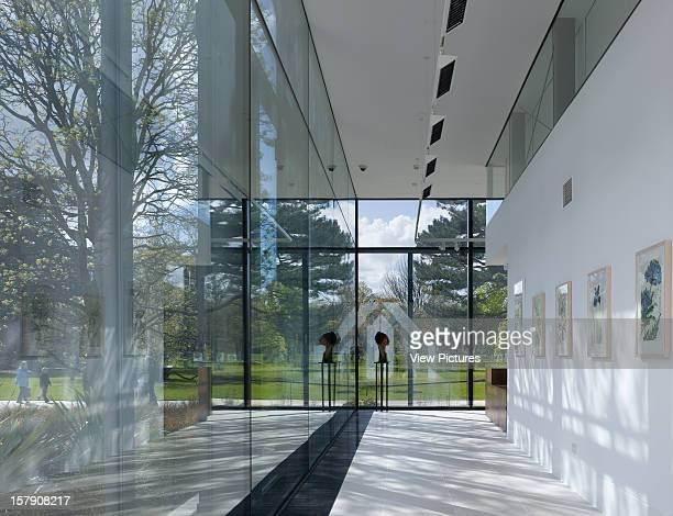 Shirley Sherwood Gallery Kew Gardens Walters And Cohen London 2008 Interior With Garden View Walters And Cohen United Kingdom Architect