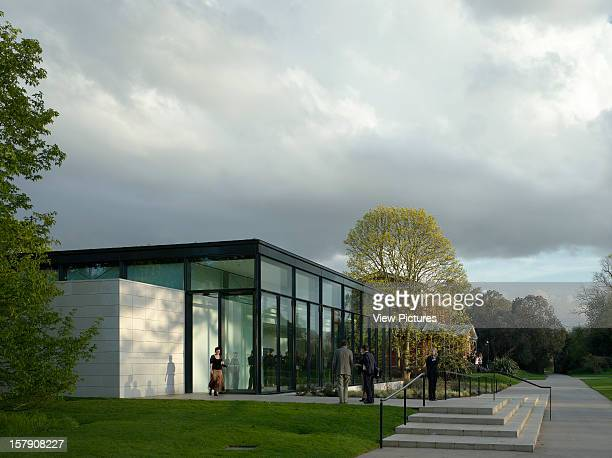 Shirley Sherwood Gallery Kew Gardens Walters And Cohen London 2008 West Elevation With Staircase Walters And Cohen United Kingdom Architect