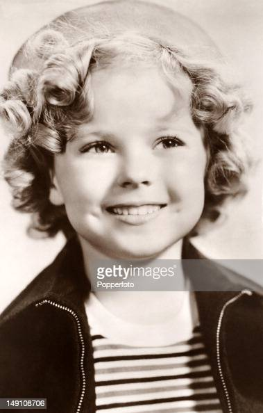 Shirley Temple American film and television actress circa 1934