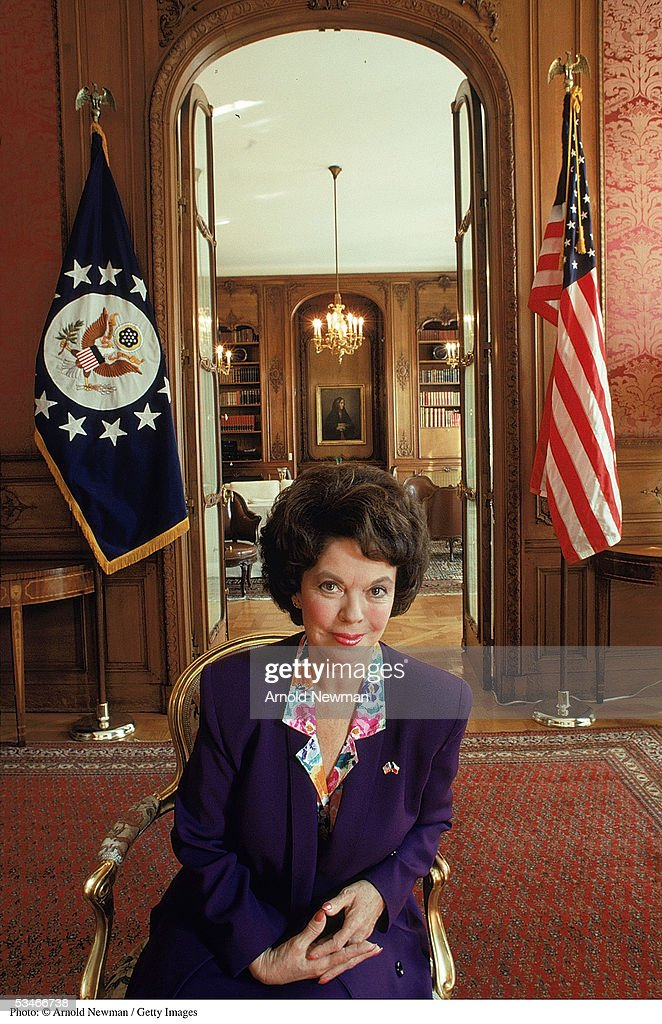 <a gi-track='captionPersonalityLinkClicked' href=/galleries/search?phrase=Shirley+Temple&family=editorial&specificpeople=69996 ng-click='$event.stopPropagation()'>Shirley Temple</a> Black, ambassador to Czechoslovakia, poses for a portrait in front of her residence September 8, 1989 in Prague. During the 1930''s she was the most popular child star in Hollywood films.
