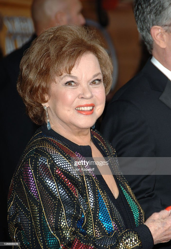 <a gi-track='captionPersonalityLinkClicked' href=/galleries/search?phrase=Shirley+Temple&family=editorial&specificpeople=69996 ng-click='$event.stopPropagation()'>Shirley Temple</a> Black during 12th Annual Screen Actors Guild Awards - Arrivals at Shrine Auditorium in Los Angeles, CA, United States.