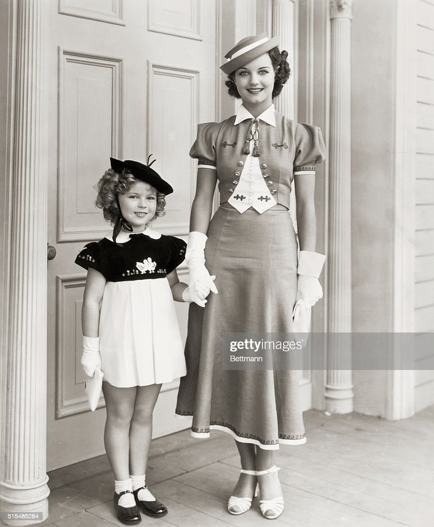 Shirley Temple in Curly top with John Boles Rochelle Hudson Jane Darewell A Fox Picture