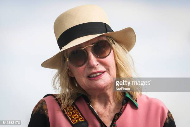 Shirley Watts during the 2nd Cracow Arabian Horse Show and Auction in the quotSzaryquot Equestrian Club in Michalowice near Krakow Poland on 10...